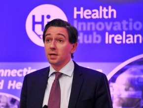 Repro Free Minister for Health Simon Harris TD pictured at the official launch of Health Innovation Hub Ireland (HIHI) in UCC, Cork. Ireland's first national Health Innovation Hub will directly improve treatment and care for patients. The Minister announced government funding, through the Department of Health and the Department of Jobs, Enterprise and Innovation in conjunction with Enterprise Ireland of €5 million for the establishment of Health Innovation Hub Ireland, which is led by University College Cork (UCC). Health Innovation Hub Ireland, a partnership of clinicians, academics, innovators and entrepreneurs from across Ireland will accelerate healthcare innovation and commercialisation, by addressing healthcare challenges and in doing so will create jobs and exports for the country Pic Daragh Mc Sweeney/Provision