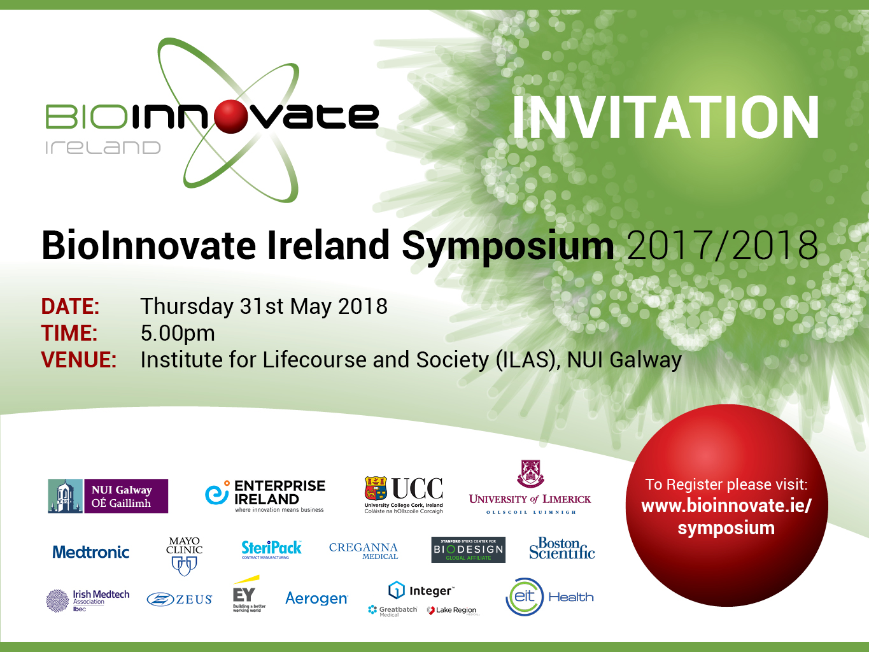 BioInnovate Symposium – Save the Date!